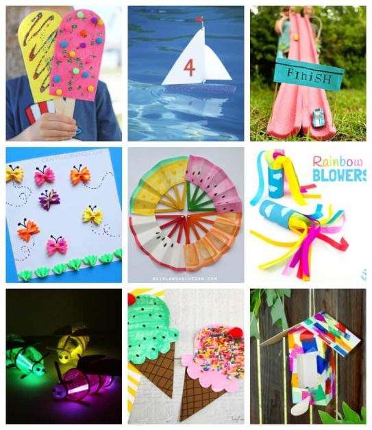 Amazing Crafts And Activities To Do With Kids At Home