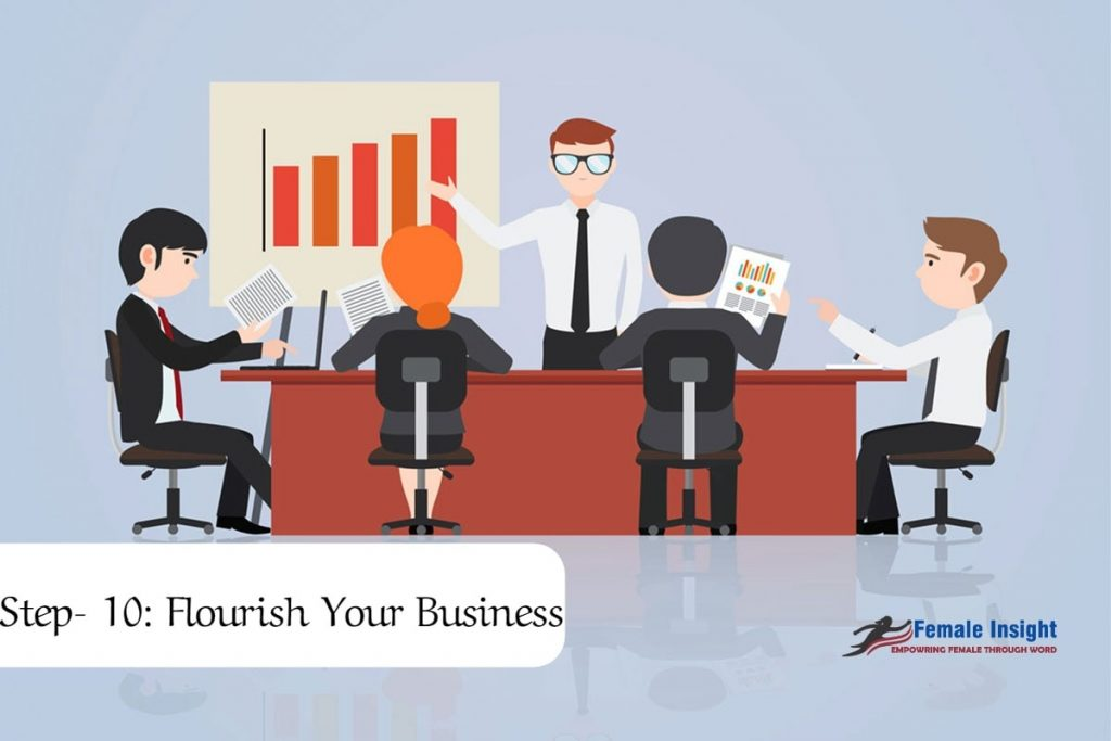 Step- 10: Flourish Your Business