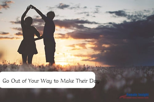 How to Have a Happy Marriage- Go Out of Your Way to Make Their Day