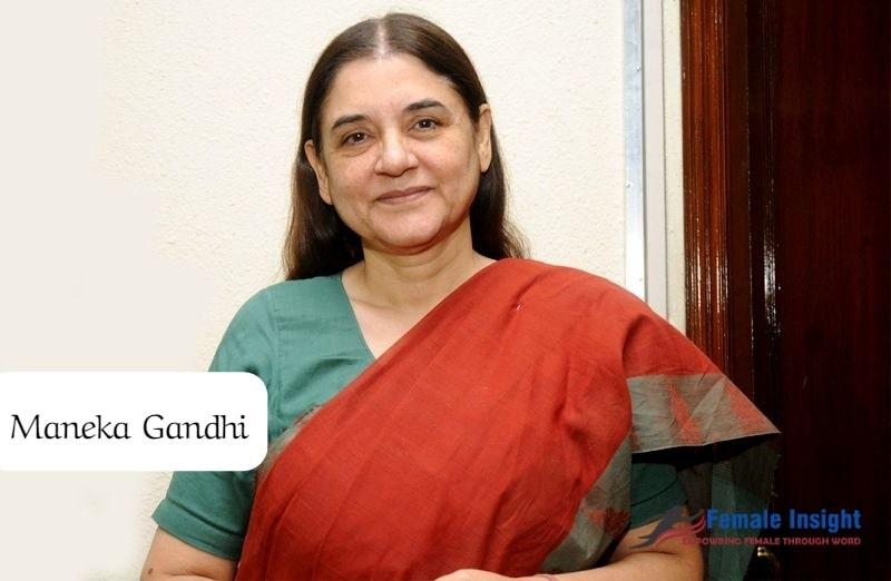 Maneka Gandhi/Top 10 Women Environmentalists In India