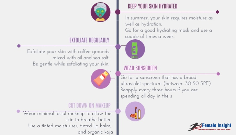 More Tips for Skin Care During Summer