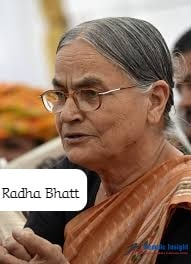 Radha Bhatt- One Of The Leading Indian Female Environmentalists