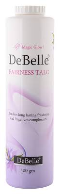 Debelle Fairness Talc- 10 Best Talcum Powder For Women In India