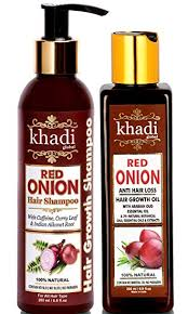 Khadi Global Onion Shampoo- Unique Shampoo In India For Hair Growth