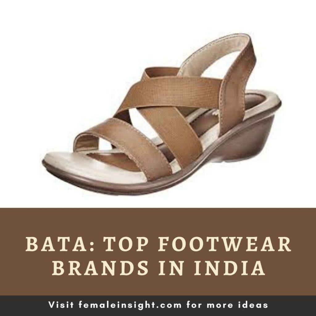 Bata- Top 10 Ladies Footwear Brands In India