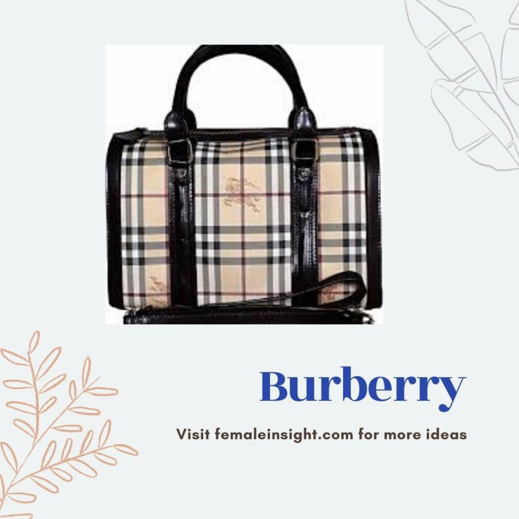 Burberry- One of the Best Handbag Brands