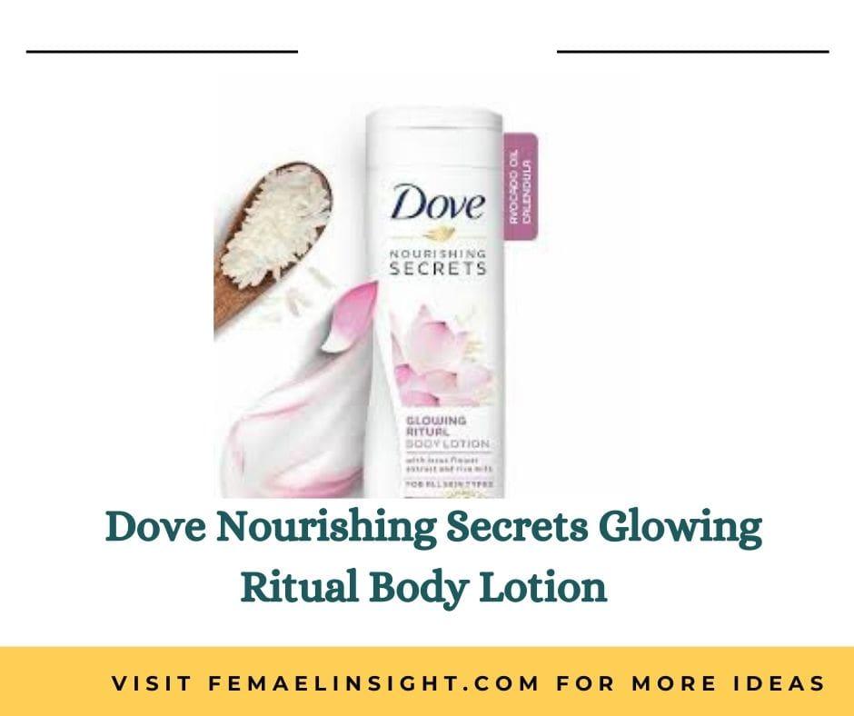 Dove Nourishing Secrets Glowing Ritual Body Lotion