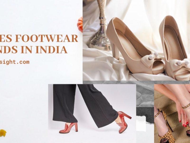 Top 10 Ladies Footwear Brands In India
