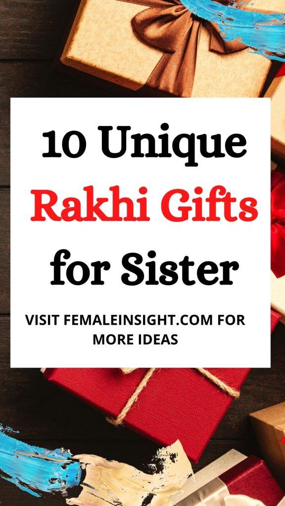Unique Rakhi Gifts Pin