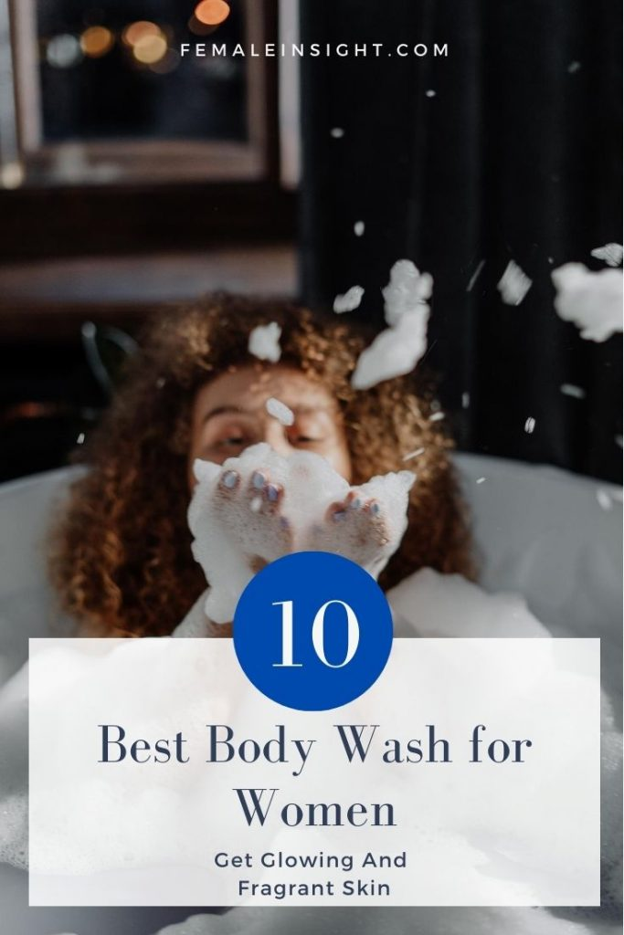 Best Body Wash for Women Pin