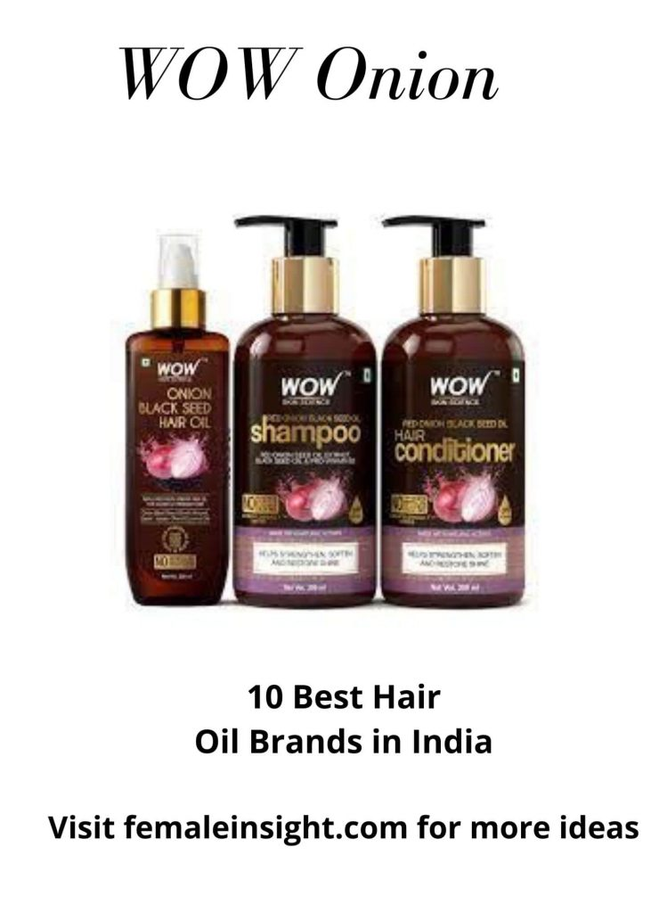 WOW Onion Hair Oil- One-stop Hair Solution
