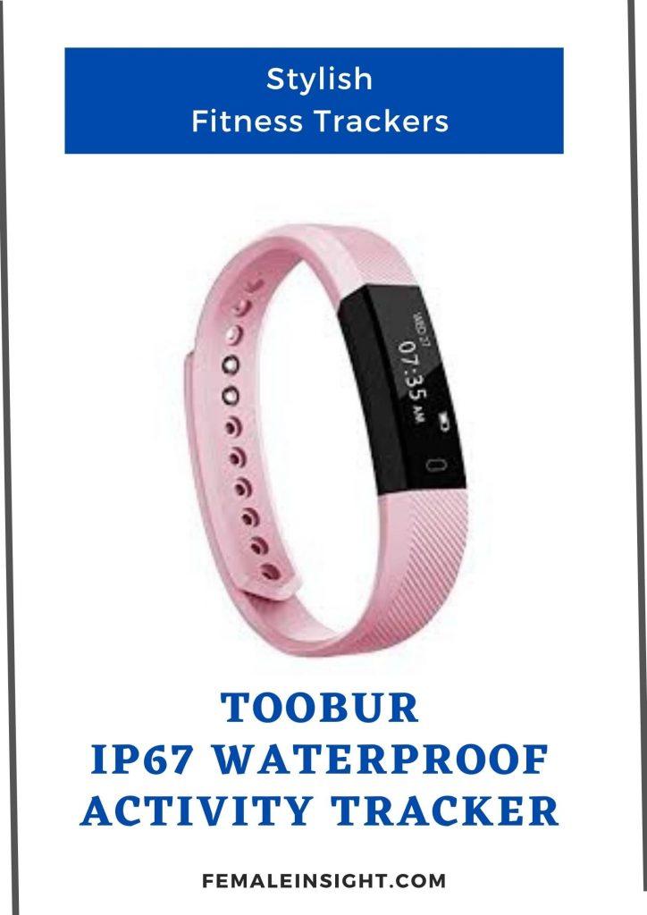 TOOBUR IP67 Waterproof Activity Tracker