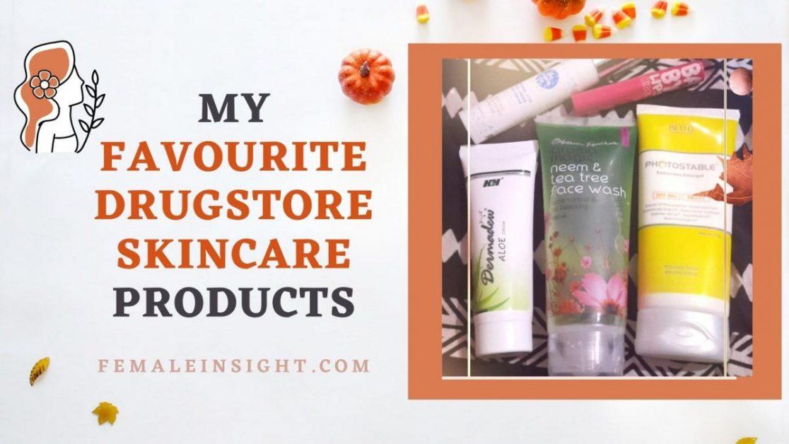 Favourite Drugstore Skincare